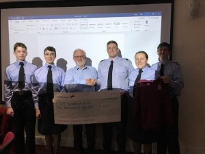 Community Open Meeting - 13th May 2019 - Grant presentation to 125 Squadron ATC