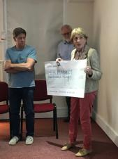 Community Open Meeting - 13th May 2019 - Grant presentation to CK Business Connect