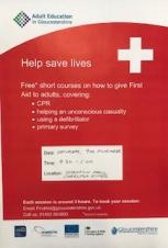 Free Community First Aid Course