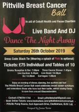 Pittville Breast Cancer Ball in aid of Cobalt and Focus Charities - Saturday, 26th October 2019