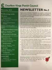 Newsletter - Charlton Kings Parish Council - November 2019