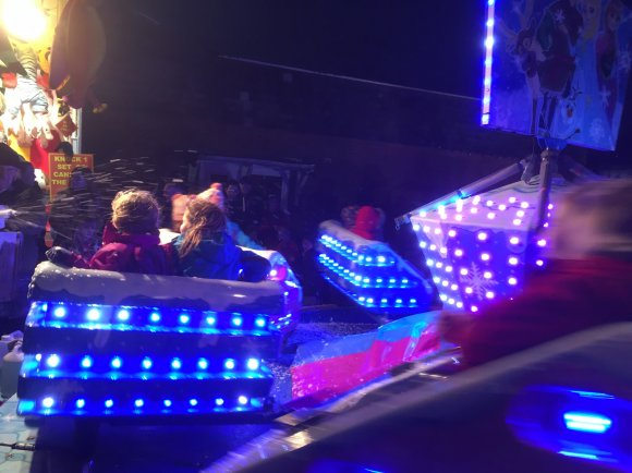 Christmas Fayre 2018 - Fairground rides 2
